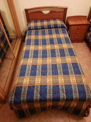 Habitación Completa. 2 camas más mesilla