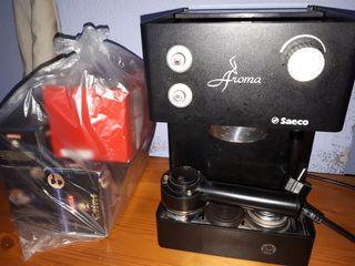Cafetera Saeco.