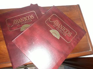 Colección fascículos abanicos