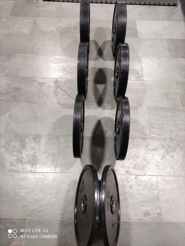 Discos olímpicos 90 kg.