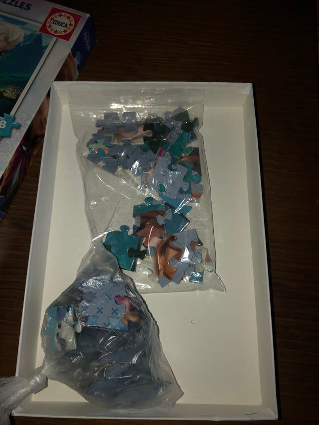 Pack puzzles Frozen Elsa Anna Olaf