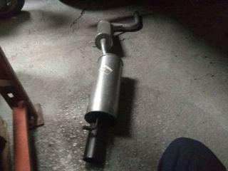 tubo de escape Fiat uno turbo