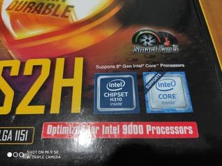 Placa base Gigabyte ATX H310M S2H. Socket LGA 1151