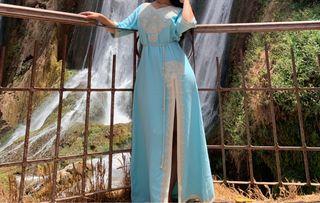 Caftan vestido marroquí