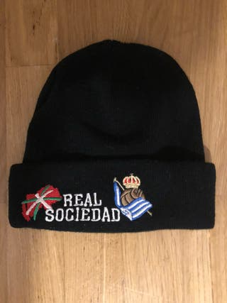 Gorro de lana de la real sociedad