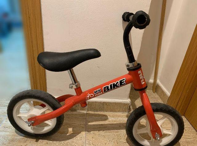 Bicicleta sin pedales