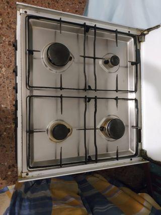 Cocina completa horno placa