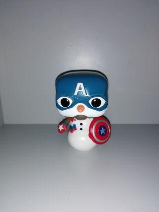 capitan america muñeco de nieve