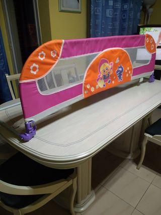 Barrera de seguridad infantil para cama