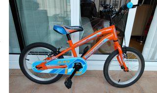 Bici Megamo Kids 16' como nueva!
