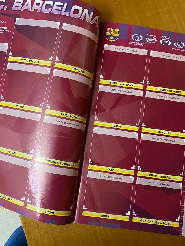 Album LIGA 07 08 vacío colecciones ESTE