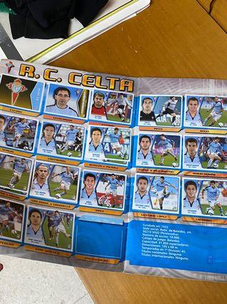 Album Liga 05 06 con Messi, incompleto
