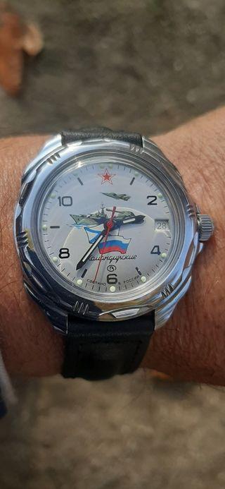 Reloj de cuerda Ruso komandirskie a estrenar