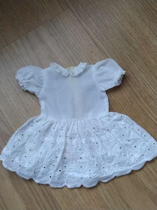 Vestido muñeca chiquitina/Nancy