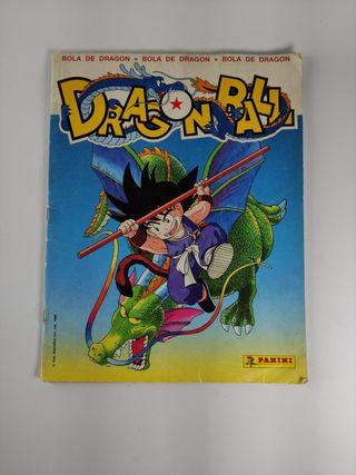 album,cromos,postales dragón ball,panini,1986
