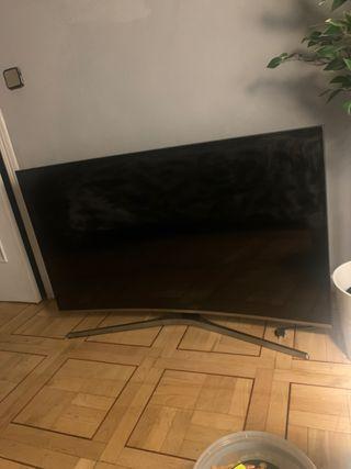 Samsung 49 inch curved tv PANTALLA ROTO