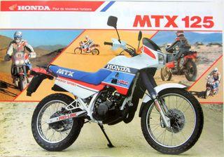 Carburator 125 MTX 88-91 y otros recambios