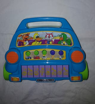 Piano musical en forma Auto