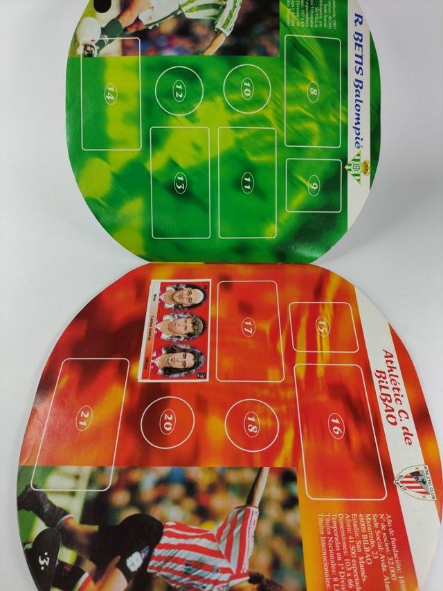 album,cromos bollycao ,fútbol liga 98,99