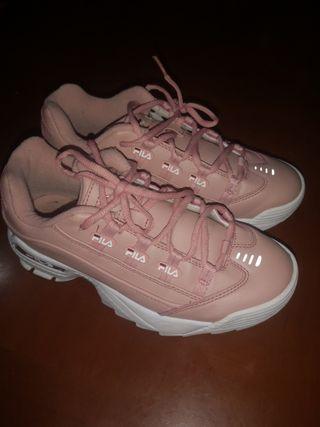 Zapatillas FILA rosa