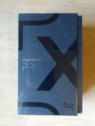 Bq Aquaris X Pro-64Gb/4Gb-(Nuevo Precintado)-
