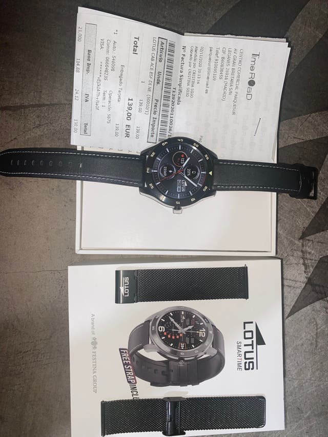 Lotus smartwatch 50010