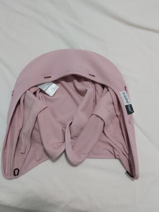 Capota bugaboo modelo bee3 color rosa pastel