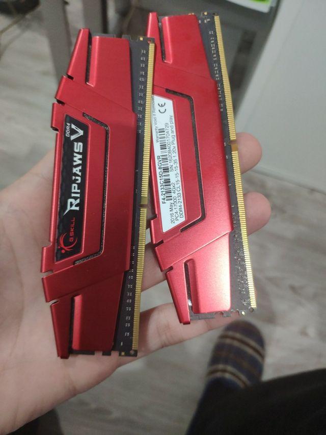 memoria RAM gskill ddr4 8gb