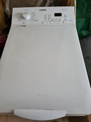 Lavadora AEG carga súper 6kg, 50€