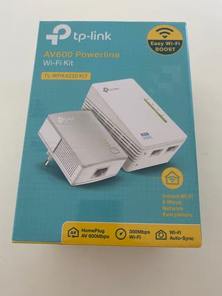 Tp- Link AV 600 Powerline wi-fi
