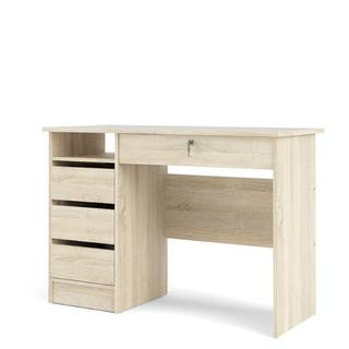 Mesa escritorio roble patinado 110cm