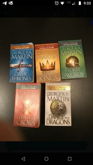 Game of Thrones y trilogía Lord of the Rings