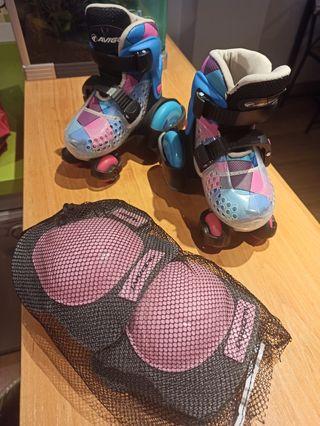 patines y refuerzos gratis
