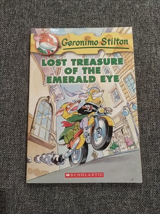 "Libro en inglés ""Lost treasure of the Emerald eye"""