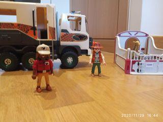 Playmobil camion explorador