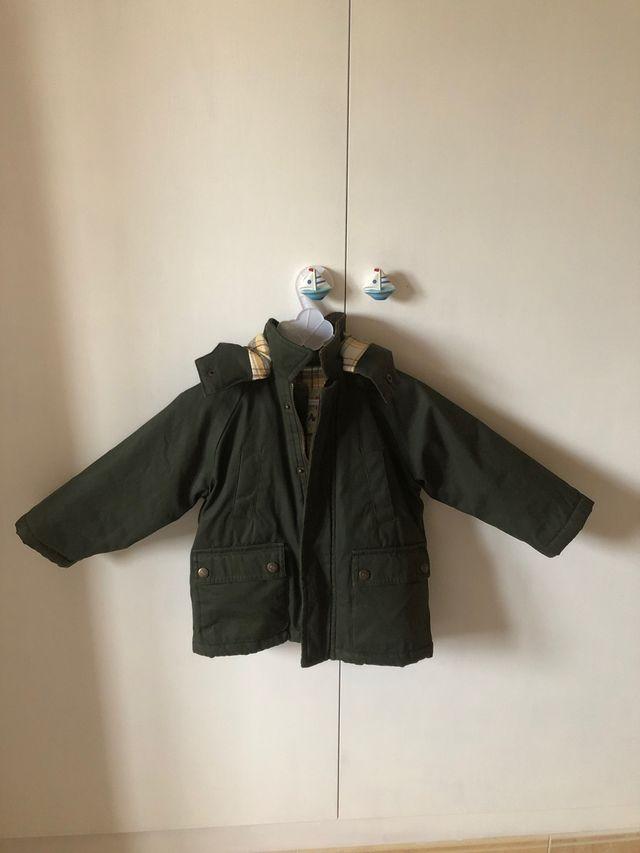 Abrigo niño talla 1-2