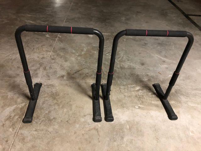 Barras para gimnasia