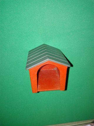 playmobil caseta perro casa animales