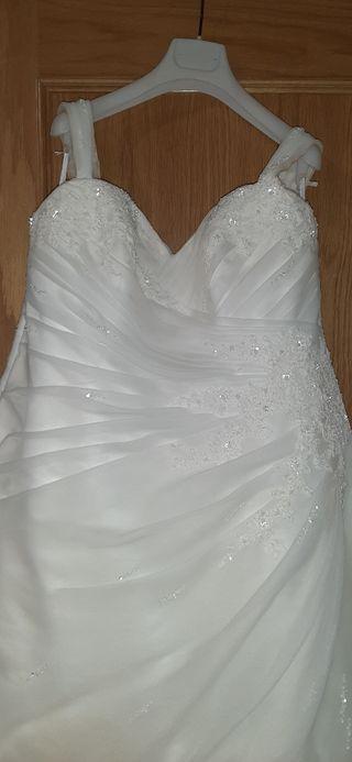 traje de novia San Patrick