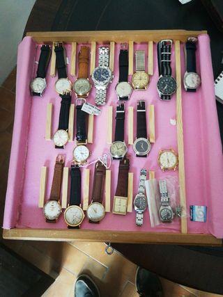 Colección relojes pulsera Breitling omega rolex