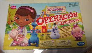 juego operación doctora juguetes