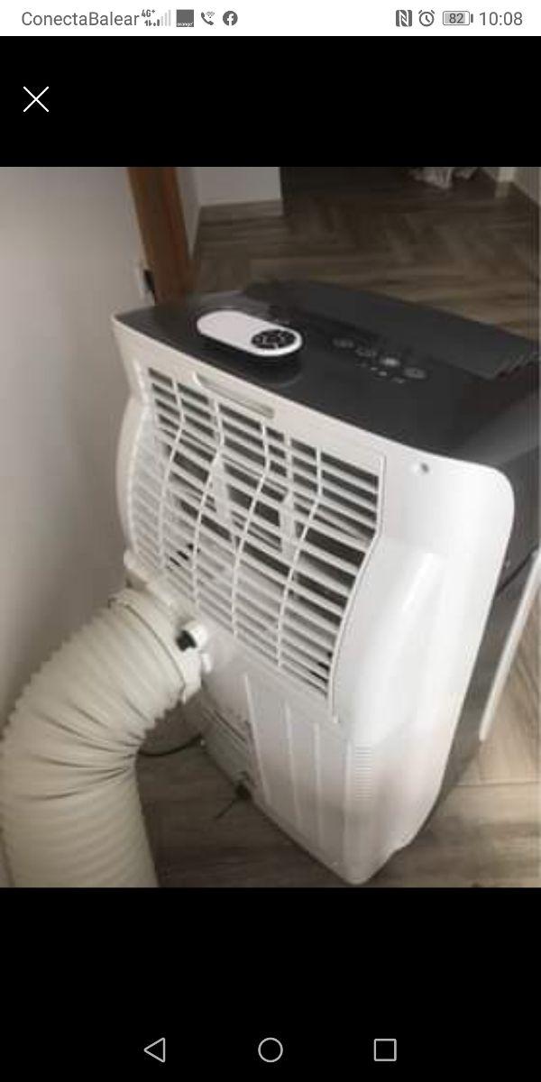 deshumificador o aire acondicionado potente