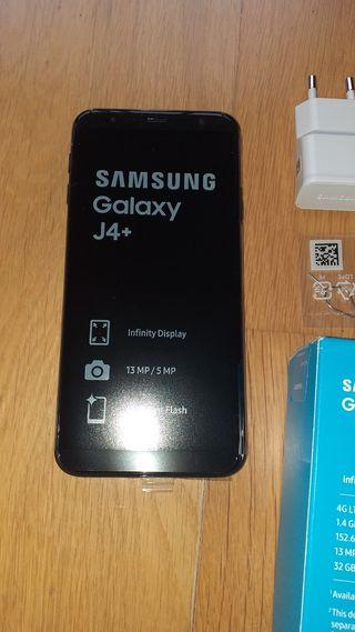 Samsung J4 plus nuevo sin estrenar.