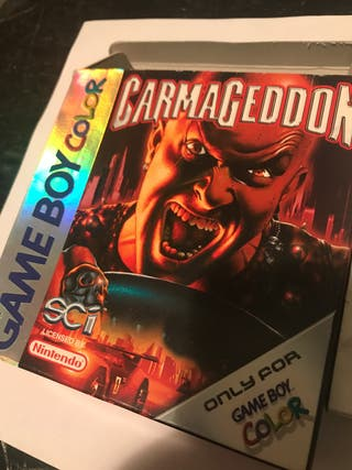 Carmageddon Game Boy Color