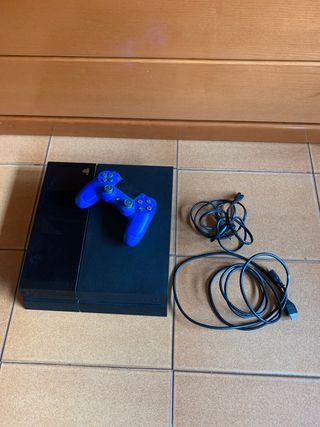 Ps4 + mando + cable HDMI y alimentación