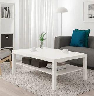 Mesa de centro, blanco118x78 cm Modelo LACK, IKEA,