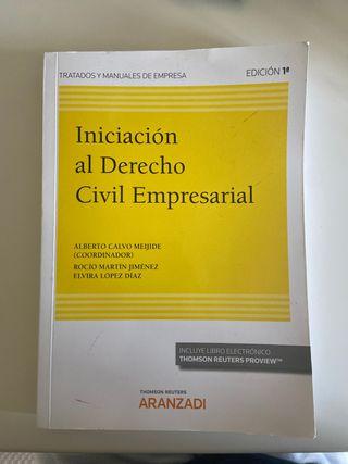 Libro Iniciación al Derecho Civil Empresarial