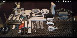 Wii+accesorios