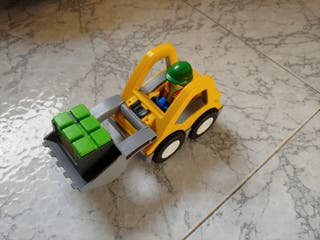 Excavadora Playmobil 123