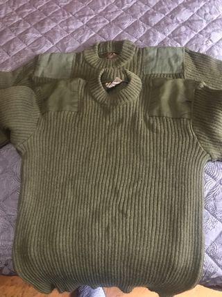 Jersey lana ejército